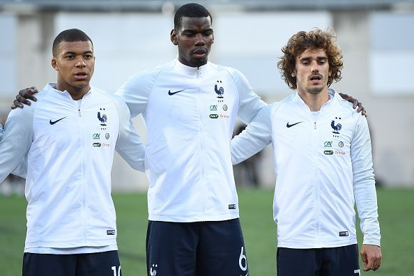 Can France cope with the absences of Mbappe and Pogba?