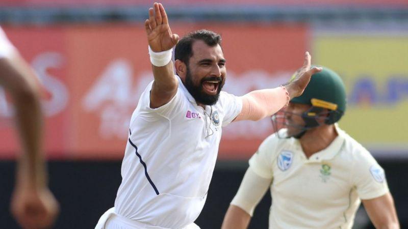 Mohammed Shami dismantled South Africa's batting order