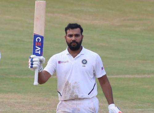 रोहित शर्मा - एक टेस्ट में दो शतक का रिकॉर्ड (फोटो: BCCI)