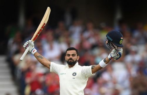 Virat Kohli registered his seventh double hundred today.