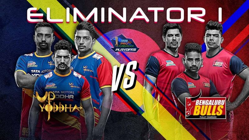 UP Yoddha vs. Bengaluru Bulls (Eliminator 1, Pro Kabaddi 2019)
