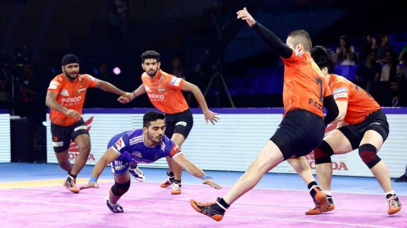 Can Haryana overcome U Mumba's defensive prowess? (Image Courtesy: Pro Kabaddi)
