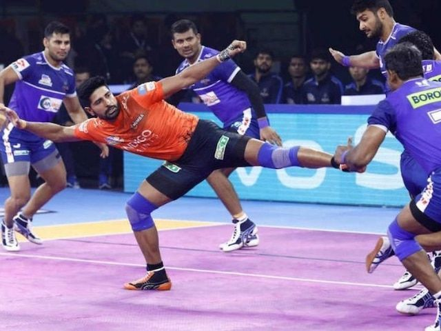 Haryana Steelers succumb to U Mumba in an intense clash