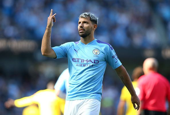Aguero has been in fine form this season
