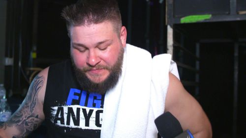 Kevin Owens was picked in the third round of the WWE draft