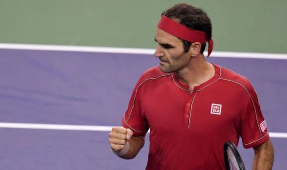 Federer beats Peter Gojowczyk in the opening round of 2019 Basel