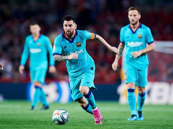 The UEFA Champions League remains the priority for Messi and co.