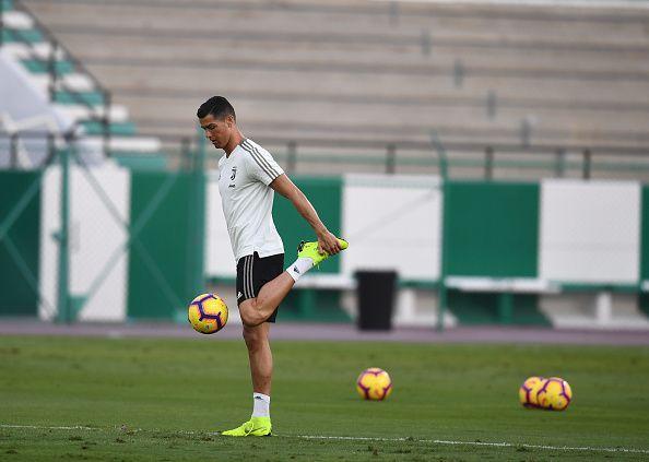 Ronaldo is still fit as a fiddle