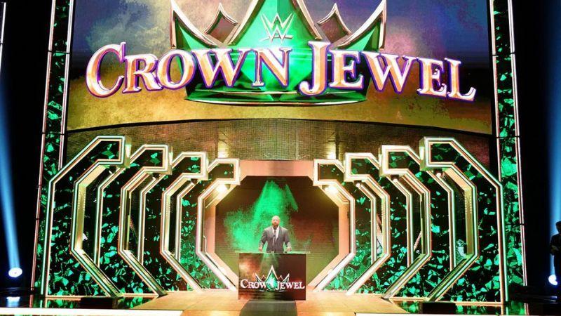Crown Jewel is WWE