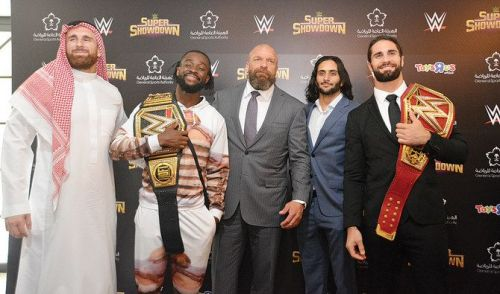 A number of current WWE Superstars are of mixed descent