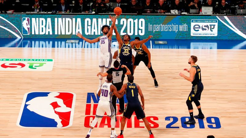 The NBA gates have officially opened in India for everyone to enjoy.