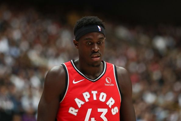 Pascal Siakam and the Raptors host the New Orleans Pelicans in their season opener