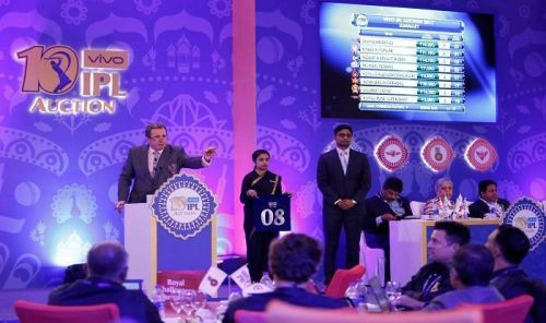 The IPL auction for next season will take place in December.