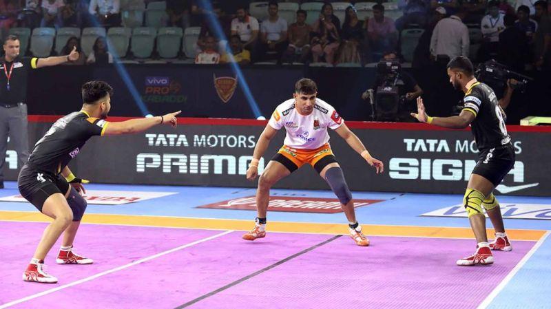Telugu Titans' defence needs to keep Nitin Tomar down
