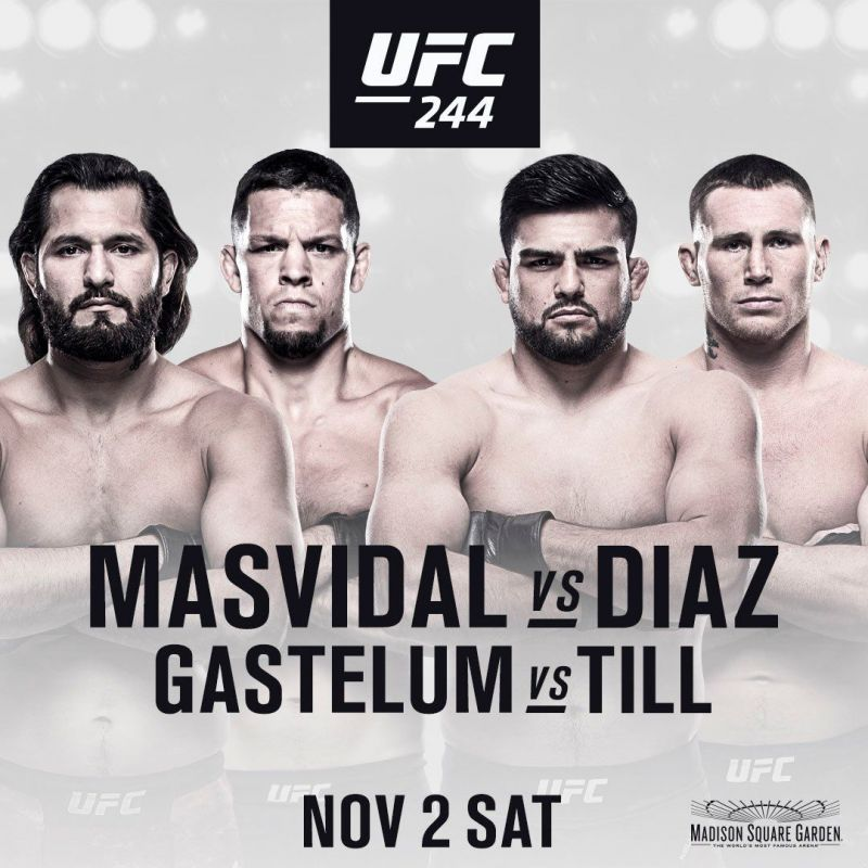 UFC 244: Masvidal vs Diaz
