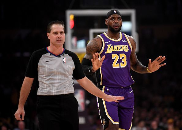 Los Angeles Lakers and LeBron James beat Utah Jazz in their last game.