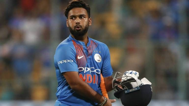 Rishabh Pant has not had a great run in the T20I format