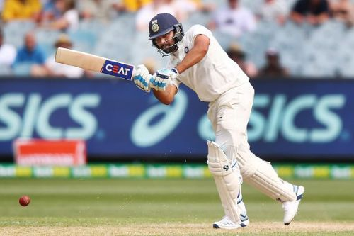 Rohit Sharma slammed twin centuries in his first Test as an opener