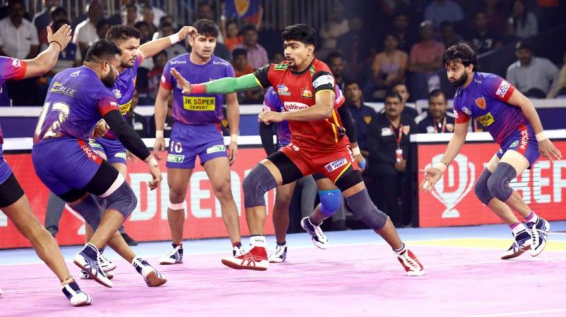 Bengaluru Bulls and Dabang Delhi K.C. were the two raiding powerhouses of the season