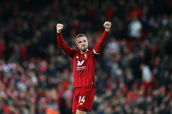 Jordan Henderson scored just after half-time to bring his side level