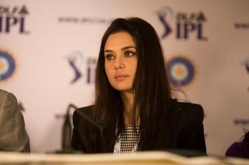 Preity Zinta is one of the co-owners of Kings XI Punjab