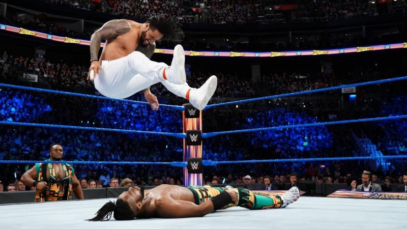 The Usos and The New Day were the faces of the SmackDown Live tag team division