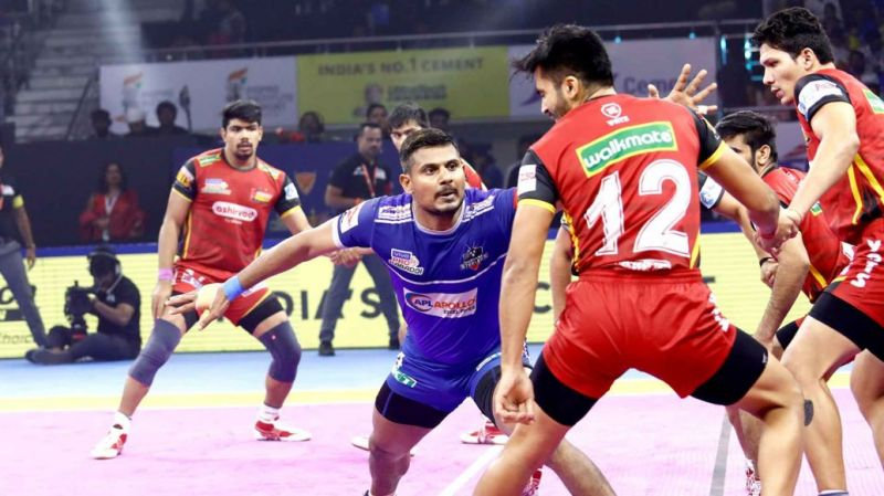 Prashanth Kumar Rai stole the show at the Tau Devilal Sports Complex