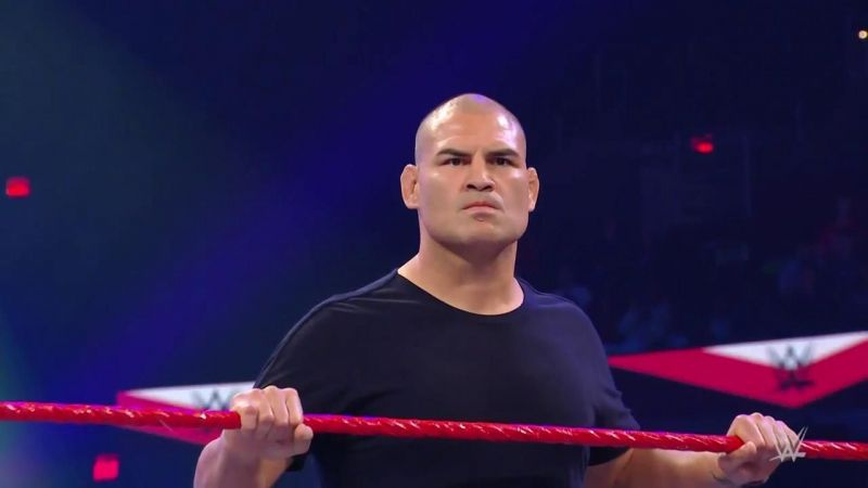 Cain Velasquez was on RAW to save Rey Mysterio.