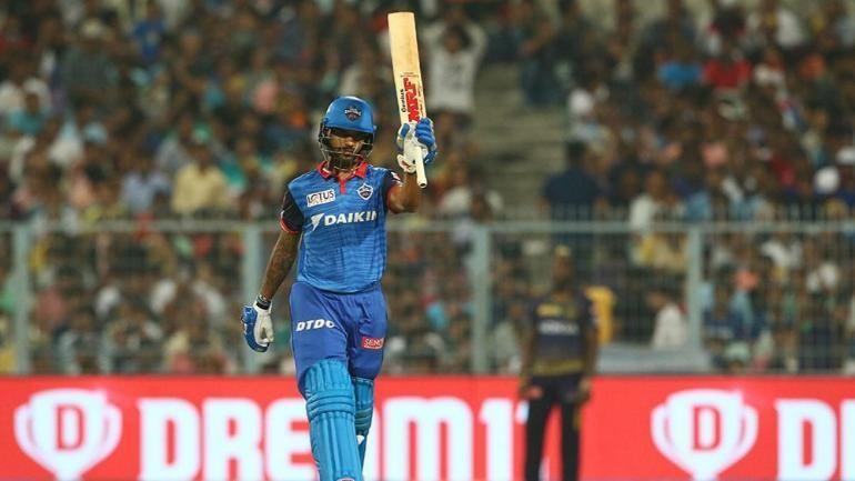 Shikhar Dhawan joined Delhi Capitals last year