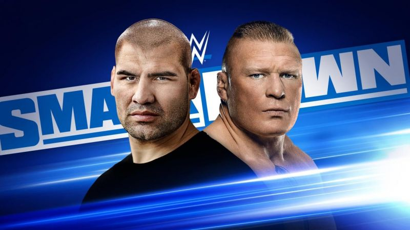 Cain Velasquez and Brock Lesnar