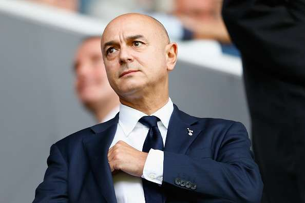 Daniel Levy will be feeling the pressure that comes with Tottenham's stuttering form.