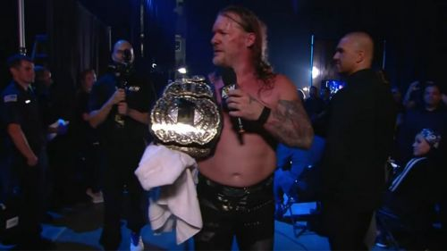 Chris Jericho is the current AEW World Champion