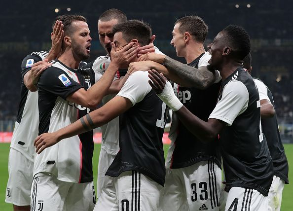 The Bianconeri have a good chance to finish on top of Group D.