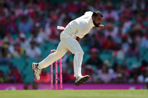 Mohammed Shami picked up five wickets in the second innings of the first Test against South Africa.