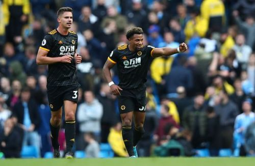 Wolves' Adama Traore bagged a brace against Manchester City in what was the biggest shock of the week.