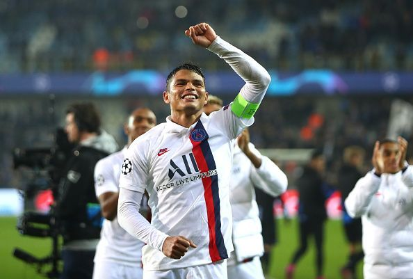 Thiago Silva was quietly brilliant as PSG kept their third successive Champions League clean sheet