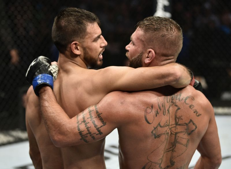 Yair Rodriguez and Jeremy Stephens