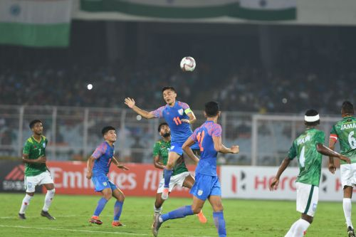 Sunil Chhetri-led side managed only a draw in a game they were hailed as favourites.