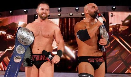 Despite being on RAW, The Revival are the SD Tag-Team champions