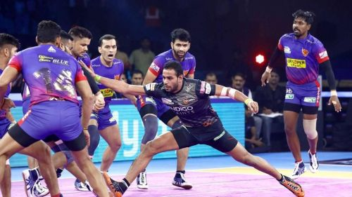 U Mumba and Dabang Delhi K.C. played out a thrilling tie in Greater Noida