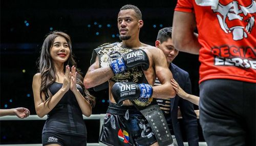 Former ONE Middleweight World Champion Vitaly Bigdash looks to move one step closer to challenging ONE Middleweight and Light Heavyweight World Champion Aung La N Sang