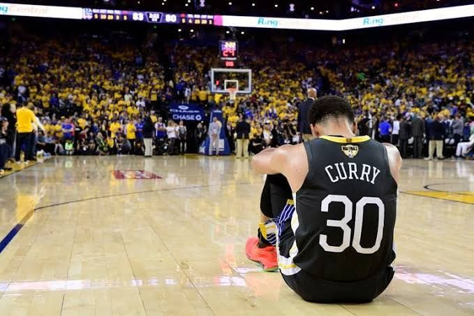 Klay and Steph would be watching from the sidelines as GSW struggle.