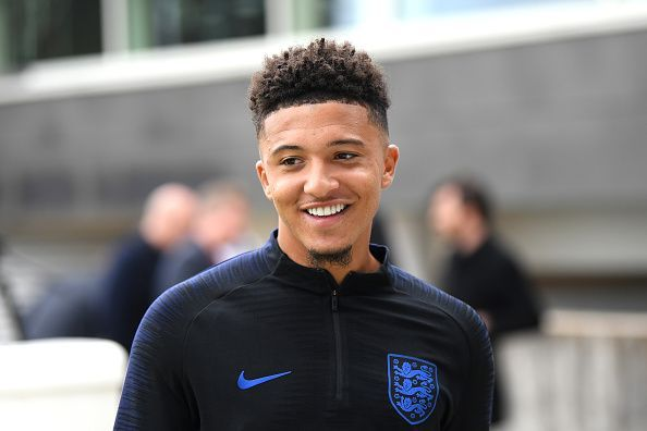 Jadon Sancho has been in inspired form for club and country.