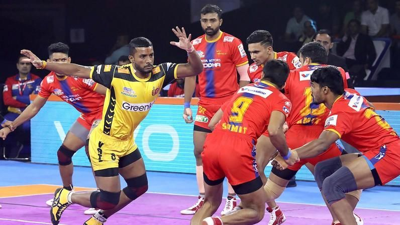 Telugu Titans defeated UP Yoddha in their final match of PKL 2019