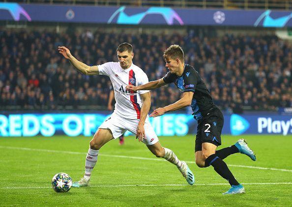 Club Brugge KV v Paris Saint-Germain: Group A - UEFA Champions League