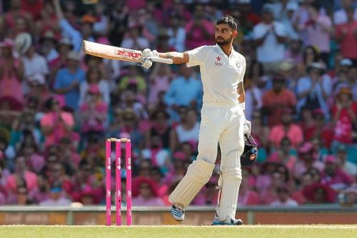 Virat Kohli has been unstoppable in Test matches ever since he became the captain