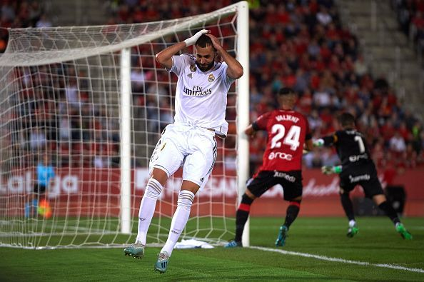 Benzema came closest to equalising for Real Madrid