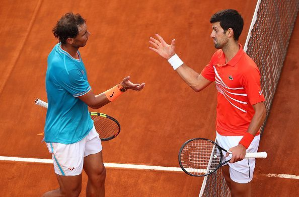 Nadal and Djokovic can possibly lock horns in the final at Paris