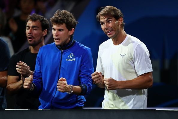 Thiem can learn a lot from Rafael Nadal