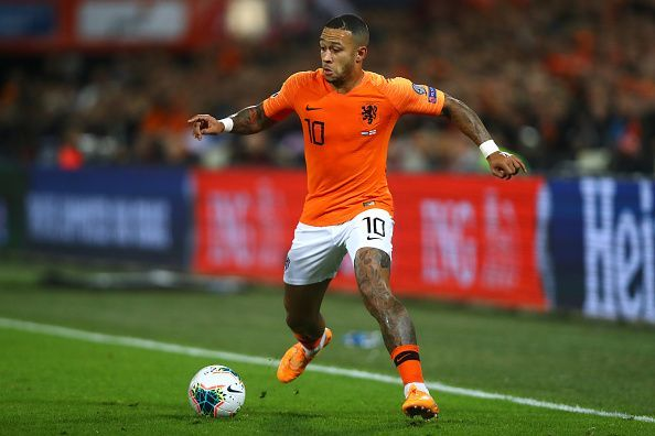 Depay scored twice in the comeback win against Northern Ireland